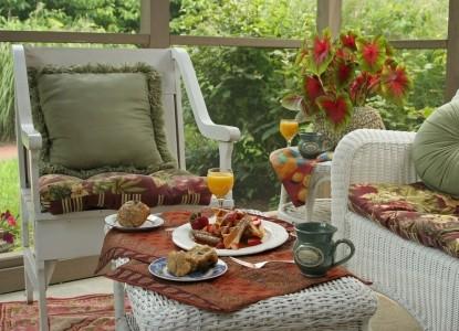 Woolverton Inn breakfast