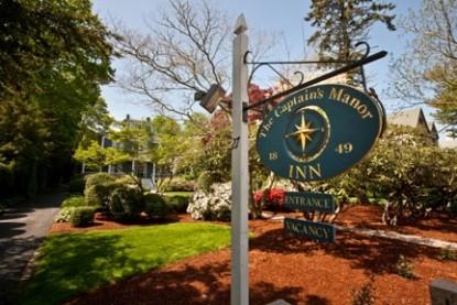 The Captain's Manor Inn, marquee