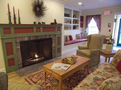 Country Inn at Camden/Rockport Bed & Breakfast, fireplace