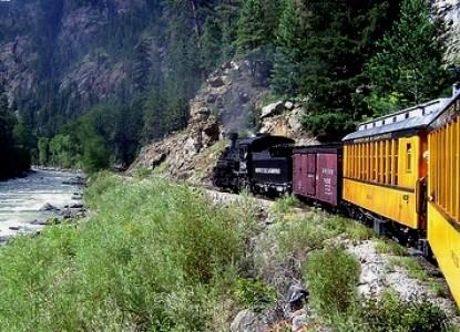 Sundance Bear Lodge, train