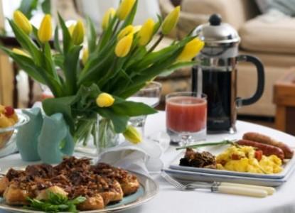 Wickwood Inn, breakfast