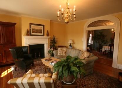 The Dinsmore House Inn fireplace