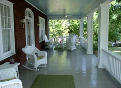 The Irish Rose Bed and Breakfast-Front Porch
