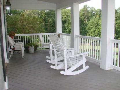 Barking Fox Farm Guest House chairs