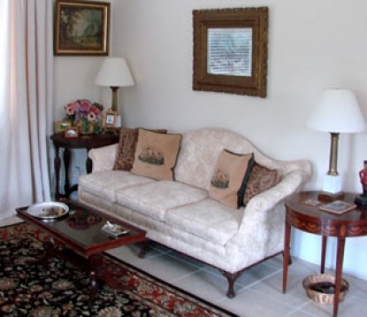 Barking Fox Farm Guest House couch
