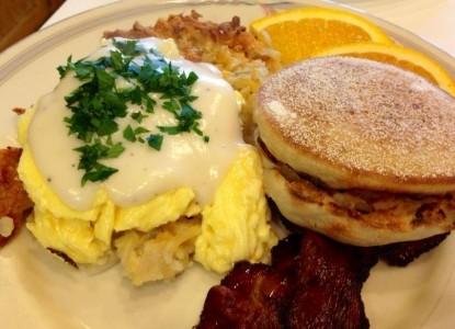 Walnut Street Inn Bed and Breakfast, breakfast