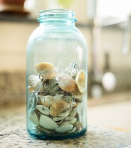 Crooked Tree Cottage-Seashells in a Jar