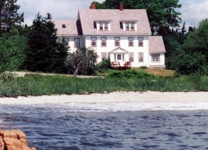 Enjoy magnificent ocean views, our private sandy beach & historic inn 5 minutes from Acadia Nat'l Park at Schoodic!