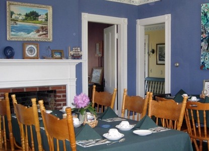 Acadia's Oceanside Meadows Inn, dining area