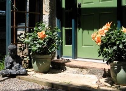 Asheville Green Cottage, garden