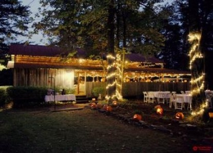 The Garden Inn Bed & Breakfast at Bee Rock-Evening Wedding