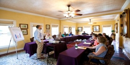 Gruene Mansion Inn Meeting Room