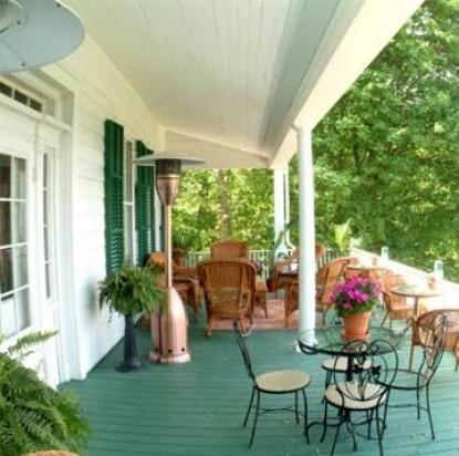 Renwick Clifton House, front porch