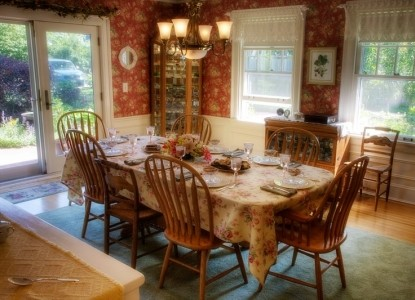 Albion Heritage Bed & Breakfast, dining area