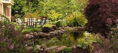 Churchtown Inn B&B garden