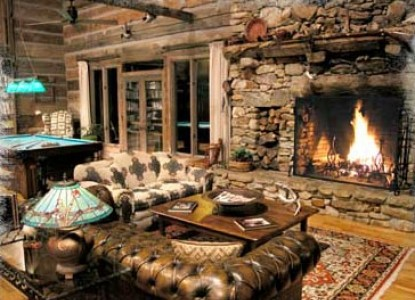 The River Lodge Bed & Breakfast-Spectacular Great Room
