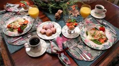 The River Lodge Bed & Breakfast-Breakfast
