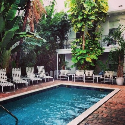 SoBe You Bed and Breakfast, Salt Water Pool