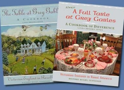Grey and Gables B&B cookbooks