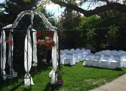 Weddings or Special Events at the Iron Gate Inn and Winery
