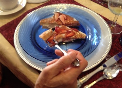 The Villa Bed and Breakfast French Toast Breakfast