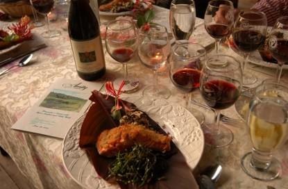 Beechwood Inn wine and dinner
