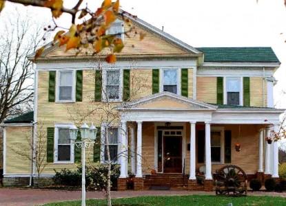 Six Acres Bed & Breakfast, Cincinnati, Ohio, front