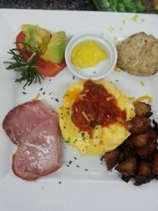Breakfast at SeaGlass Inn, breakfast