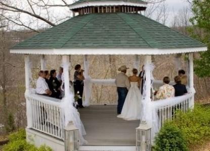 The Inn at Harbour Ridge-wedding, gazebo