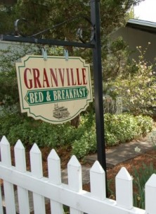 Granville Bed and Breakfast-Marquee