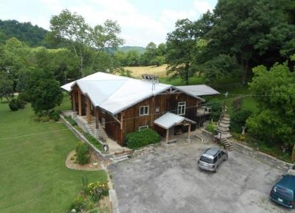 Cascade Hollow Lodge,Aerial View