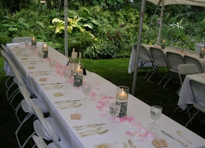 Moondance Inn Minnesota,  Outdoor weddings