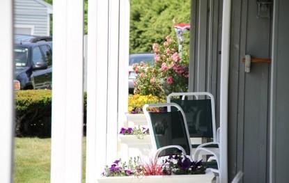 Seaside Inn porch