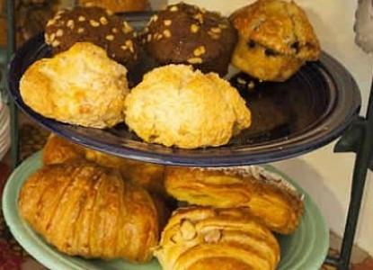 Harding House breakfast muffins