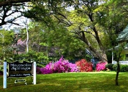 Magnolia Springs Bed & Breakfast front sign