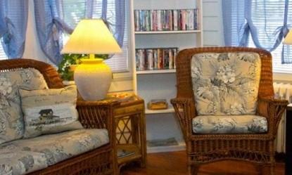 Serendipity Bed & Breakfast wicker chairs