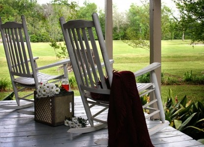 Maison D' Memoire Bed & Breakfast Cottages, rocking chairs