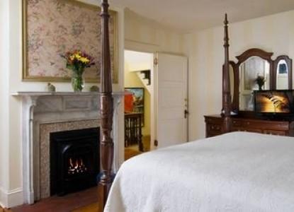 Carolina Bed & Breakfast fireplace