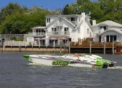 Bayside Inn motor boat