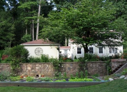 The White Rose Bed and Breakfast Grounds