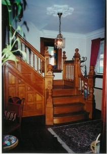 River Hill Bed & Breakfast, staircase