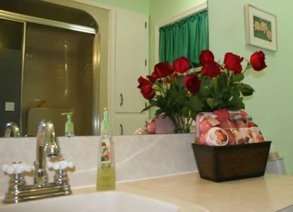 Tiffany's Bed & Breakfast The DeGray bathroom