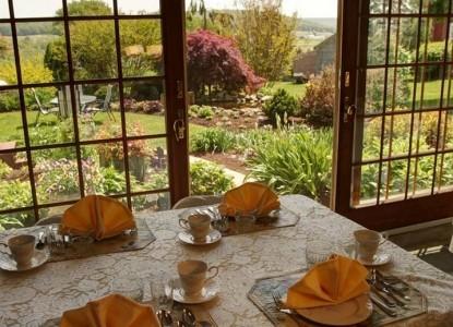 Churchtown Inn B&B, dining table