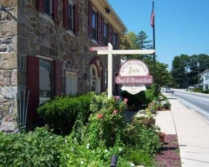 Churchtown Inn B&B, sign