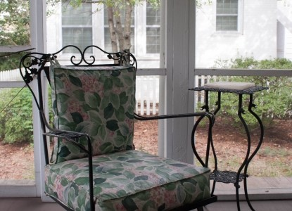 Colonial Capital Bed & Breakfast, patio