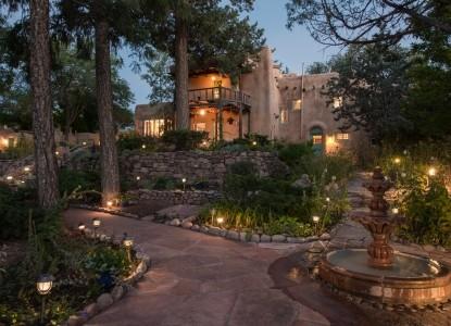 3rd Night FREE! Historic Adobe Villa set in the heart of Santa Fe.