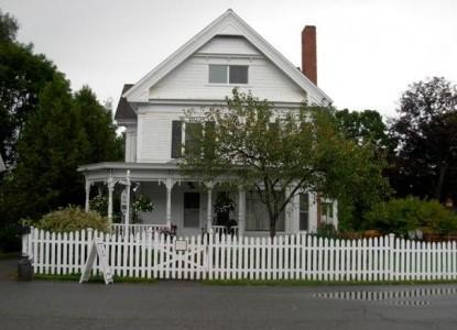Village Victorian Bed & Breakfast front of inn