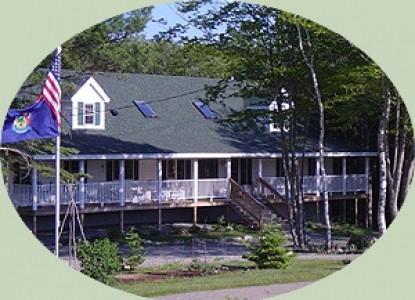Blueberry Fields Bed & Breakfast front of inn