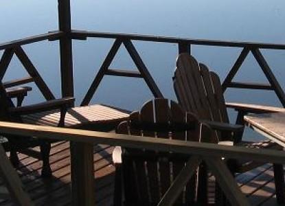 Mariaville Lake Bed & Breakfast, balcony