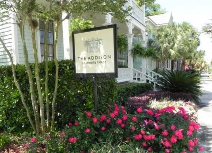 The Addison on Amelia front sign